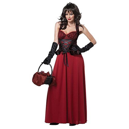 [GSG Little Girls Costume Adult Gothic Fairy Tale Halloween Fancy Dress] (Gothic Ballerina Halloween Costumes)
