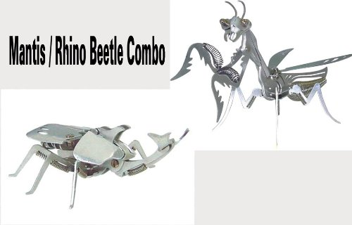 OWI-351/OWI-353 Mega Mantis & Rhino Beetle Aluminum Kit Combo