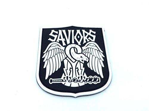 Saviours Walking Dead Fan Patch Airsoft Patch PVC Toppa