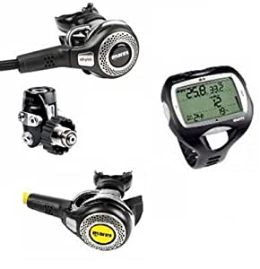 Mares abyss 52 din with abyss octopus and mares nemo wide - Mares nemo wide dive computer ...