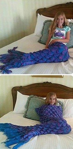 Mermaid Blanket with Scales