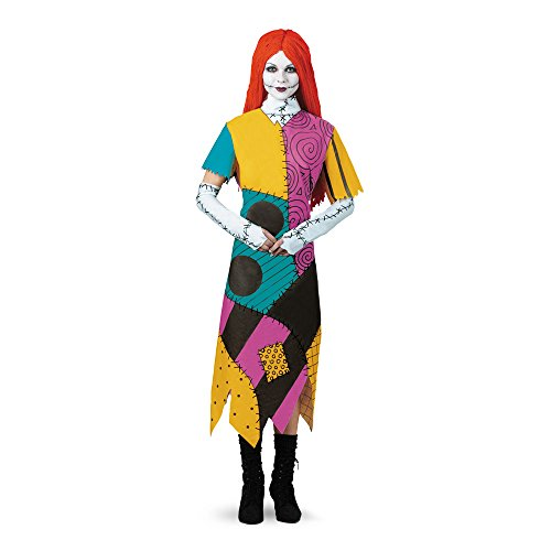 Halloween 2017 Disney Costumes Plus Size & Standard Women's Costume Characters - Women's Costume CharactersDisguise Women's Disney Nightmare Before Christmas Sally Classic Costume Standard & Plus Sizes