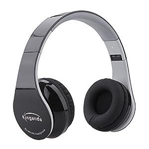 Leesentec 密閉型ワイヤレス Bluetoothヘッドフォン 折りたたみ 3.5mm オーディオ有線ヘッドセット
