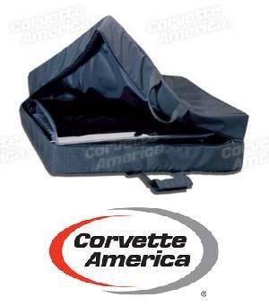 Black Canvas T-Top Panel Storage Case Corvette America X2434 (Corvette America compare prices)