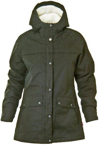 Twentyfour Damen Beito Winter Jacke - Farbe: oliv Größe: 46