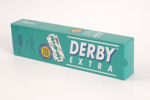 1000 Derby Extra Stainless Steel Double Edge Safety Razor Blades. Available in different quantities via drop-down menu below!
