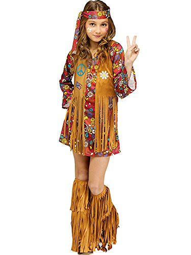 Peace & Love Hippie Kids Costume