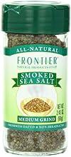 Frontier Smoked Grinder Bottle Sea Salt 24 Ounce