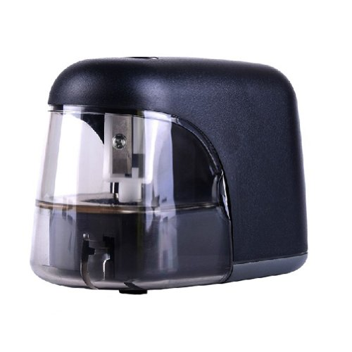 Battery Auto Electric Pencil Sharpener For Office And Home Desks (Black)