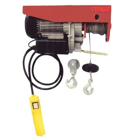 Pro-Grade Ultra-Duty 1,500 lb Electric Cable Hoist - 1-1/2 HP