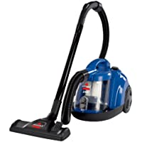 BISSELL Zing Bagless Corded Canister Carpet & Hard Floor Vacuum (Caribbean Blue)