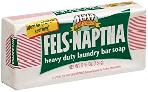 Fels Naptha Laundry Bar Soap - Case of 24 Bars
