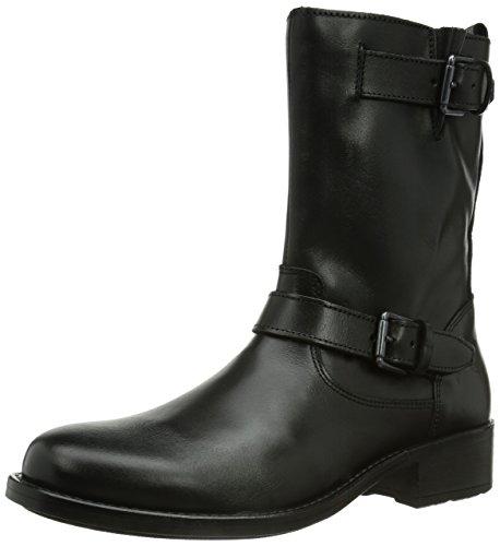 Marc O'Polo Flat Heel Bootie, Stivali donna, Nero (Schwarz (black 990)), 39 1/3 EU (6 Damen UK)