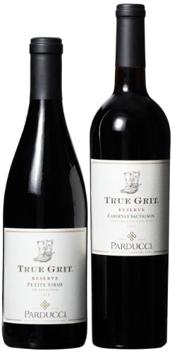 Parducci True Grit Of All Cabs And Petit Sirahs Mixed Pack (1St Edition), 2 X 750 Ml