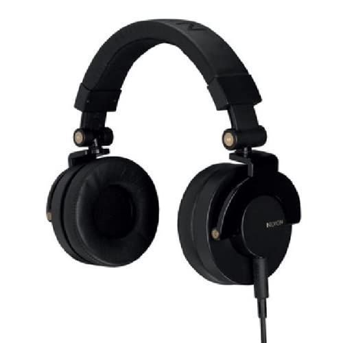 NIXON HEADPHONES: RPM/ BLACK/GOLD NH019010-00
