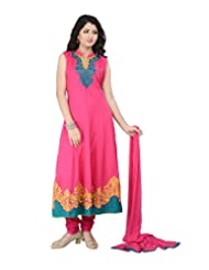 SHARMILI Women's Cotton Straight Salwar Suit