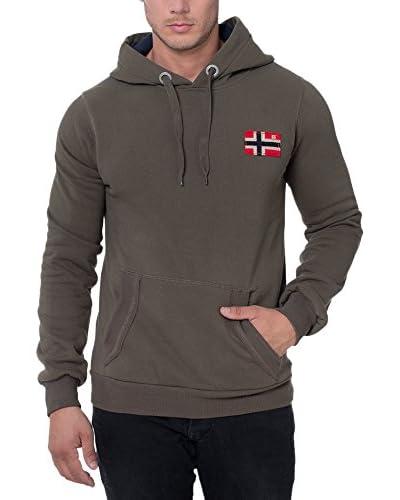 Geographical Norway Kapuzensweatshirt Fondant khaki