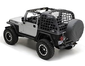 Smittybilt 521035 Black Diamond C.RES Systems Cargo Net for Jeep Wrangler