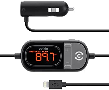 Belkin TuneCast Auto Lightning FM Transmitter and Charger