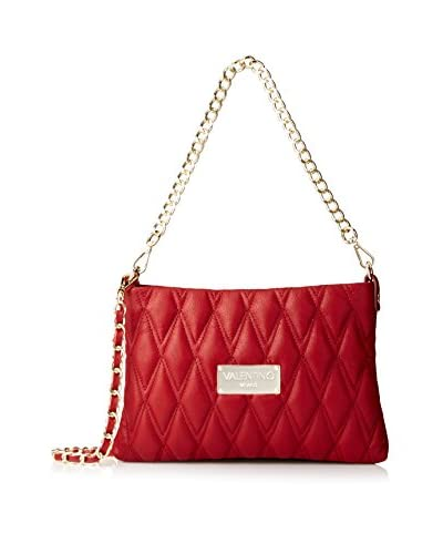 Valentino Bags by Mario Valentino Women's Vanille D Quilted Cross-Body, Rubino