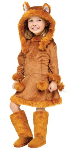 Big Girls' Sweet Fox Costume Medium (8-10) front-160109