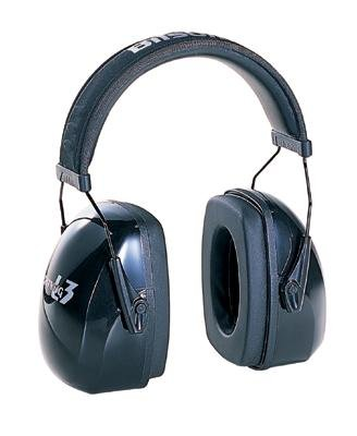Howard Leight Bilsom Leightning L3 Earmuff with Telescoping Height Adjustment, Snap-in Ear Cushions and a Non-deforming Padded Steel Wire Headband