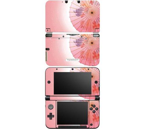 Buy Nintendo 3DS XL Decal Skin Sticker - Japanese Umbrella Low ...