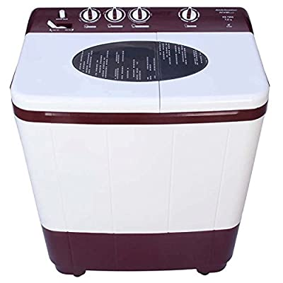 Kelvinator KS7315DM Fully-automatic Single-door Washing Machine (7.3 Kg, Dark Maroon)