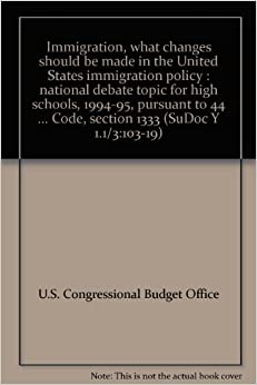 immigration policy in the united states essay Immigration essay in this paper i will discuss how the united states needs a new immigration policy that is based less on wishful thinking and more on realism.