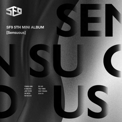 CD : Sf9 - Sensuous (hidden Emotion Version) (Asia - Import)