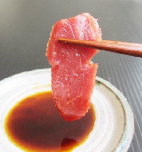 【業務用】馬刺し 1kg赤身刺し (バラ肉/モモ肉)/タレ5Pつき 【天馬】 [その他]
