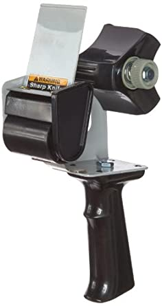 Tartan Pistol Grip Box Sealing Tape Dispenser HB903 Black