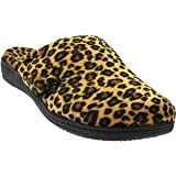 Orthaheel Womens Gemma Slipper,Tan Leopard,US 7 M