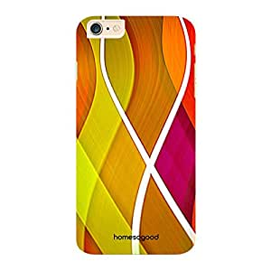 HomeSoGood Colorful Fields Multicolor 3D Mobile Case For iPhone 6 Plus (Back Cover)