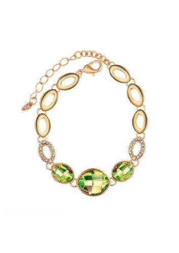Neoglory Jewelry METAMORPHOSIS Charm Bangle MADE WITH SWAROVSKI ELEMENT Crystal