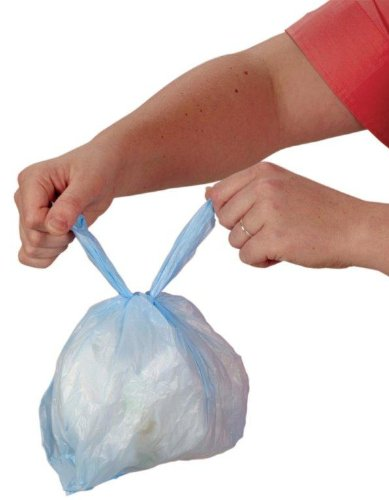 Disposable Bags for Diapers and More! 50 Count