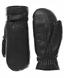 Raber Gloves Men's Winter Cowhide Leather Mittens Size L Color Black