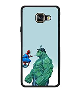 printtech Superhero Avengers Back Case Cover for Samsung Galaxy A3 (2016) :: Samsung Galaxy A3 (2016) Duos with dual-SIM card slots