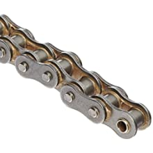 "Morse 60R 10FT Standard Roller Chain, ANSI 60, Riveted, 1 Strand, Steel, 3/4"" Pitch, 0.468"" Roller Diamter, 1/2"" Roller Width, 138000lbs Average Tensile Strength, 10ft Length"