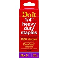 Do it Best Global Sourcing 347798 Do it No. 6 Staples-1/4