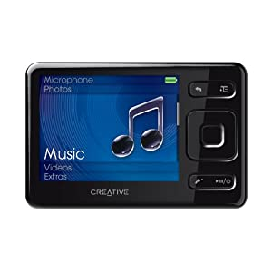 Creative Zen MX 8 GB Video MP3 Player (Black)