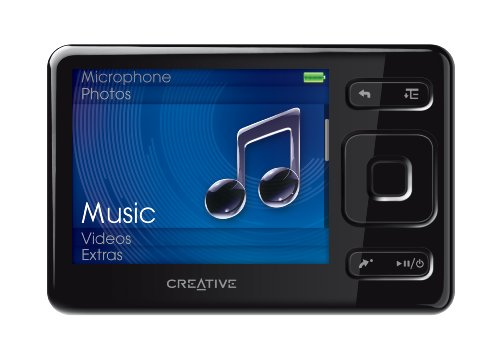 Creative Labs Zen MX 16 GB MP3 Player (Black)