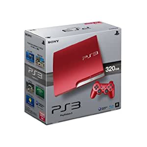 Sony PlayStation 3 320Gb Console - Scarlet Red