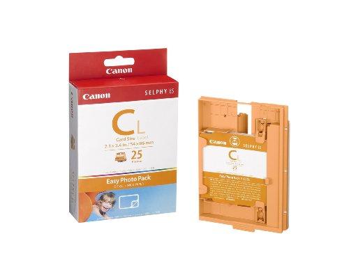 Canon Easy Photo Pack E-C25L - Kit cassette à ruban d'impression + papier - 1