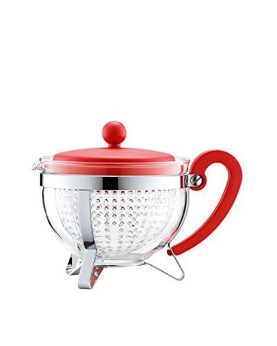 Bodum Chambord 34-Oz. Teapot, Red