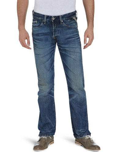 Replay Men's Waitom M983 .000.502 904 Straight Leg Jeans Blue (Denim) 32/32