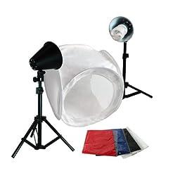 LimoStudio Photography Photo Studio 30 Inch Light Tent Kit, 1 x 30\