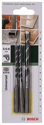 bosch-2609256918-set-de-3-forets-polyvalents-sds-quick-pour-perforateur-uneo-diametre-5-6-8-mm
