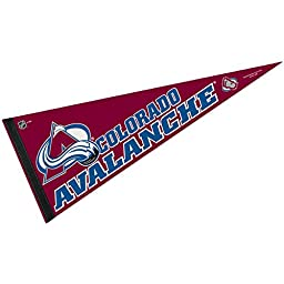 NHL Colorado Avalanche WCR63871413 Carded Classic Pennant, 12\