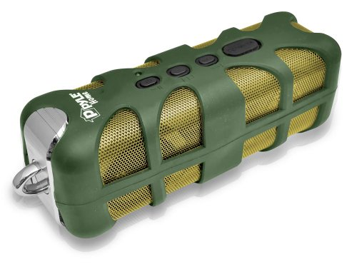 Pyle Pwpbt60Gn Sound Box Splash Bluetooth Rugged And Splash-Proof Marine Grade Portable Wireless Speaker (Green)